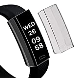 ZTY66 Ultra-Thin Soft TPU Protection Silicone Case Cover for Fitbit Alta HR (Black)