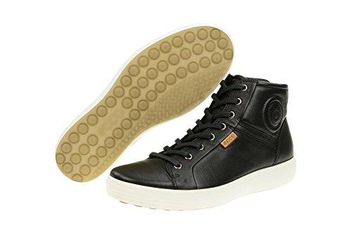 Ecco Schuhe Soft 7 Mid Black (430024-01001)