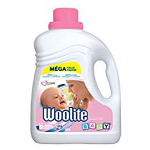 Woolite Baby, Hypoallergenic Laundry Detergent, Free of Harsh Chemicals, Standard & HE, Mega Value Pack, 2.96 L