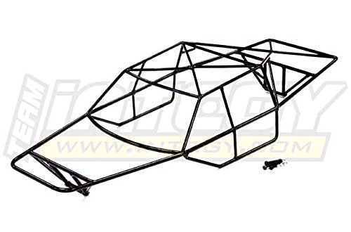 Integy RC Model Hop-ups T8527 Steel Roll Cage Body for Traxxas 1/10 Slash 4X4 non-LCG (Steel Roll Cage)