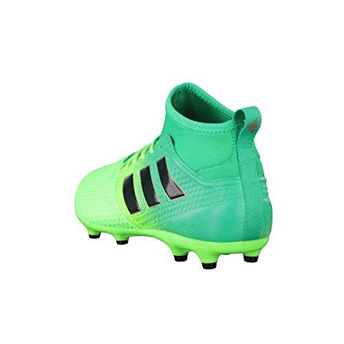 adidas Ace 17.3 Primemesh FG, Para Los Zapatos de Entrenamiento de Fútbol Para Hombre, Verde (Versol/Negbas/Verbas), 46 EU