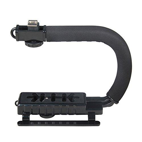 Ocamo - Estabilizador profesional multifunción para cámara DV, GoPro, iPhone, DSLR, Negro