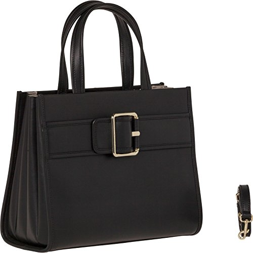 Hilfiger Leather Buckle Tote Tommy Black SqFdd8