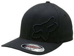 Fox Men's Flex 45 Flexfit Hat, Black, Large/X-Large