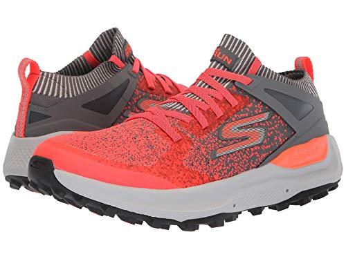 [SKECHERS(スケッチャーズ)] メンズスニーカー?ランニングシューズ?靴 Go Run Max Trail 5 Ultra Charcoal/Orange 8 (26cm) D - Medium