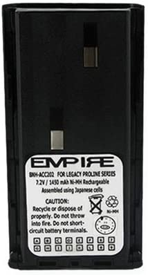 replacement for Cobra FA-BP Battery Rechargeable Battery EMPIRE Maxon PMRS446 2-Way Radio Battery Ni-MH 4.8V 600mAh