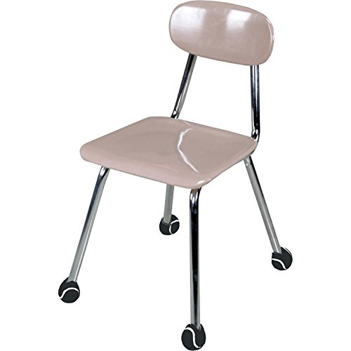 Really Good Stuff Quiet Chair Stay-Put Foot Covers - Reduce Noise from Chairs and Desks - Chair Foot Covers Prevent Floor Scuffs and Scratches in The Classroom (Set of 24)