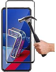 Lapinette Full Tempered Glass Compatibel met Asus Zenfone 7 Pro ZS671KS - Screenprotector van Gehard Glas Zenfone 7 Pro ZS671KS Full - 9H Force Glass - Volledige Dekking Bescherming Gehard Glas