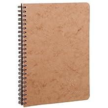 Clairefontaine 78536C - Cuaderno interior rayado, 100 páginas, color habana
