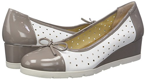 White taupe Varios Plataforma Patent H58 Mujer Gray Para 4 cloud nappa Colores Milly Stonefly Zapatos Con Pz6fw