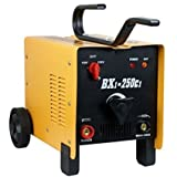 ARC Welder - Zeny ARC Welder 250AMP Rated Input Voltage, 110V/220V ARC Welding Machine, Dual Mode, Fan Cooled Single Phase, 2 Wheel, Yellow BXI-250C1