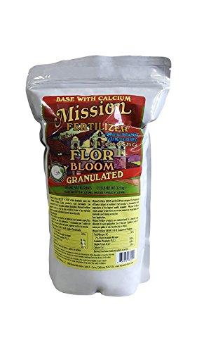 Mission Fertilizer Bloom Organic Soil nutients (Granular, 2.75lb)