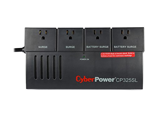 CyberPower CP325SL 325 VA 185 Watts UPS Battery Backup System by CyberPower (Image #7)