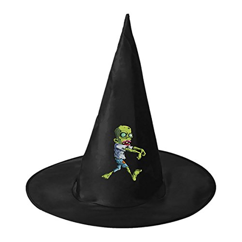 Crawly Zombie Conical Cosplay Witch Hat Toy to Halloween Costume Ball for Unisex Kids Adults