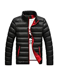 FOYUN Men's Packable Insulated Light Weight Puffer Down Jacket