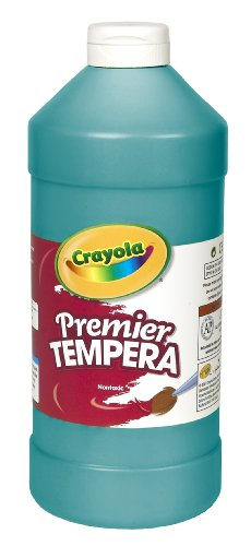 Crayola Tempera 32 Ounce Plastic Turquoise