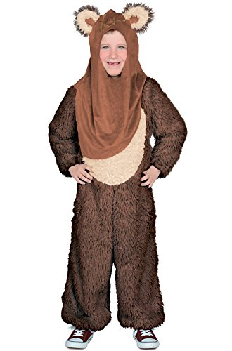 [Princess Paradise Boys Classic Star Wars Premium Wicket Jumpsuit, Brown, Medium] (Ewok Star Wars Costume)