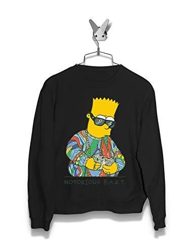 Men Hoodie & Sweatshirts | Notorius Bart | Streetwear | The Simpsons (Marge Simpson Sweatshirt)