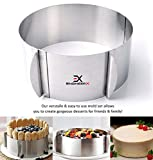 EngineerX 4-Piece Cake Molds for Baking