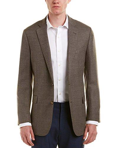 Brooks Blazer - Brooks Brothers Mens Regent Fit Wool Sport Coat, 40R, Brown