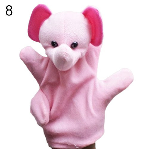Diy Storybook Costumes For Boys (Delicate Baby Child Zoo Farm Animal Hand Glove Puppet Finger Sack Plush Toy^elephant.)