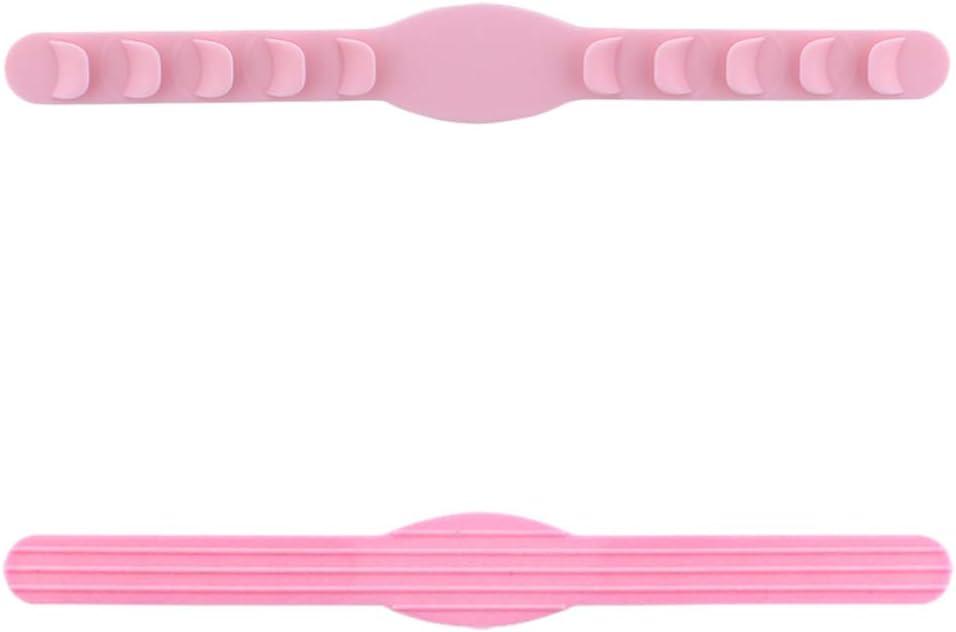 Milisten 10Pcs M/áscara Extensores de Correa M/áscara M/áscara de Banda Extensible Cintur/ón Protector de Oreja para Cubierta Facial Protector Facial