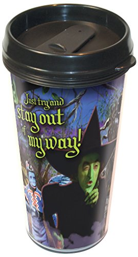 ICUP Wizard of Oz Wicked Witch Stay Out of My Way Travel Mug