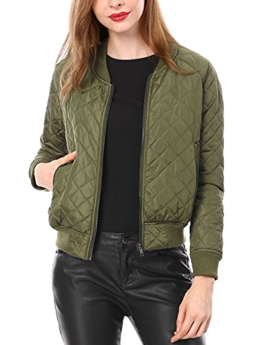 Quilted Bomber Jacket - 4