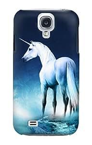 E1130 Unicorn Horse Funda Carcasa Case para Samsung Galaxy S4