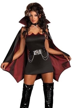 Fang Bangin' Fun Vamp Costume - Plus Size 1X/2X - Dress Size 16-18