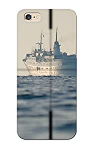 Forever Collectibles Vehicles Ships Boat Weapon Submarine Military Navy Ocean Sea Site Death Warrior Cross Hard Snap-on Iphone 6 Plus Case With Design Made As Christmas's Gift