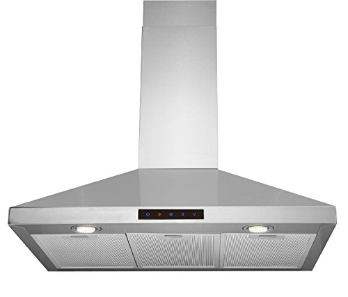 Kitchen Bath Collection  Inch Wall Mounted Stainless Steel Range Hood