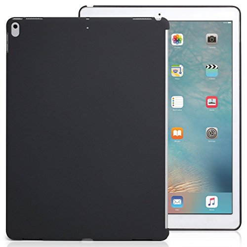 KHOMO iPad Pro 12.9 Inch Charcoal Gray Color Case - 2017 Version - Companion Cover - Perfect match for Apple Smart keyboard and Cover ()