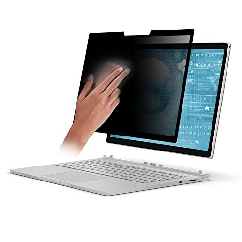 Easy On/Off Removable Privacy Screen Filter for Microsoft Surface Book 2-15 inch/Surface Book 15 inch by GeckoCare (Image #3)