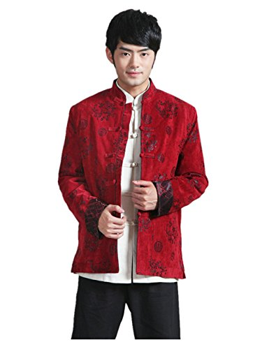 Wool Tang Suits Retro Jackets cotton-padded jacket Business Jackets Full Dress by Winter Tang Suit (Image #8)