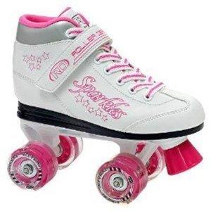 Roller Derby Sparkle Girl's Lighted Wheel Roller Skate (5)