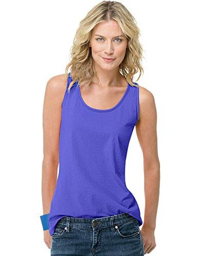 hanes-womens-scoop-neck-tank-top-petal-purple-medium