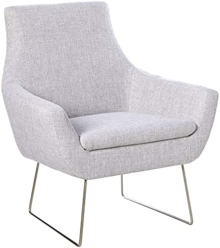 Adesso Kendrick Chair, Light Grey