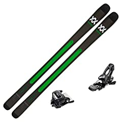The 2019 Volkl Kanjo skis with bindings is a tremendous combination that's sure to bring your skiing skills to the next level. At 84 mm underfoot, the Kanjo is an all-mountain ski with an emphasis on the front side aspect. These skis love to ...