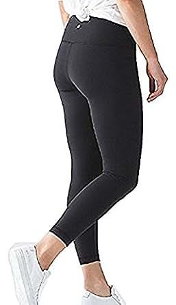 Lululemon High Times Pant Full On Luon 7/8 Yoga Pants (Black, 2)