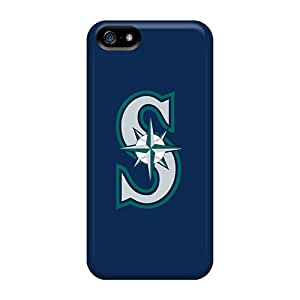 Top Quality Case Cover For Iphone 5/5s Case With Nice Baseball Seattle Mariners 1 Appearance