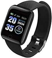 D13 Smart Watch Compatible with iPhone and Android Phones, Fitness Tracker with Heart Rate Monitor, Sleep Moni