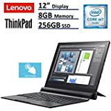 "Lenovo ThinkPad X1 Tablet Laptop (12"" (2160x1440) IPS FHD + Touchscreen, Intel Core m7-6Y75, 256GB SSD, 8GB RAM, ThinkPad Pen Pro, Windows 10 Professional) (Certified Refurbished)"
