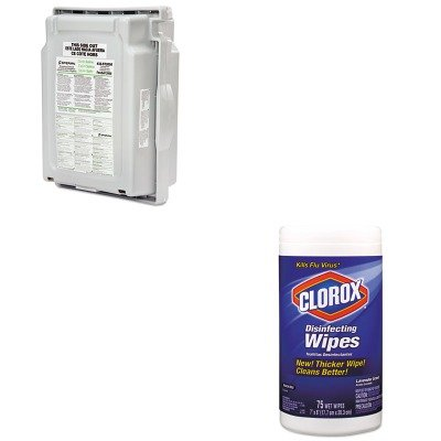 KITCOX01761EAFND32ST20500000 - Value Kit - Honeywell FENDALL Sterile Saline Refill Cartridge for Fendall 2000 (FND32ST20500000) and Clorox Disinfecting Wipes (COX01761EA)