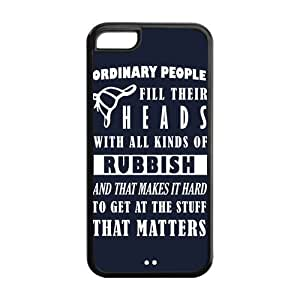 5C Phone Cases, Sherlock Hard TPU Rubber Cover Case for iPhone 5C