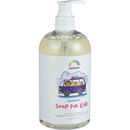 Rainbow Research Antibacterial Soap - Rainbow Research Antibacterial Raspberry Kids Soap 473 ml by Rainbow Research