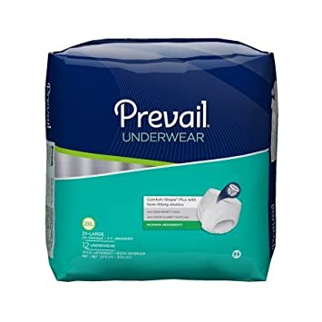 Prevail Extra Protective Underwear - XX-Large 48/cs