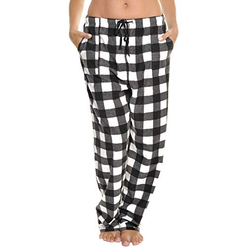 - Angelina Women's COZY Fleece Pajama Pants, PJ22_BWPLA_S
