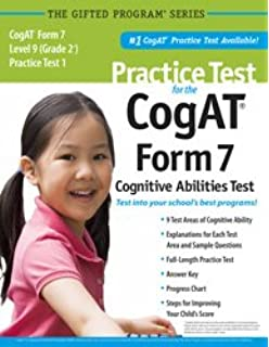 Practice test for the cognitive abilities test cogat multilevel practice test for the cogat form 7 level 9 grade 2 practice fandeluxe Gallery
