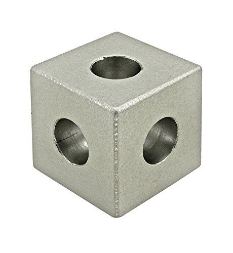 80/20 Inc., 4042, 10 Series, Square Tri-Corner Connector (Square Corner Connector)
